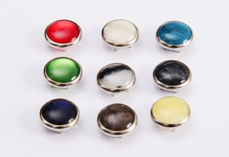 snap ring button color
